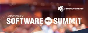 2015 Canterbury Software Summit Event logo