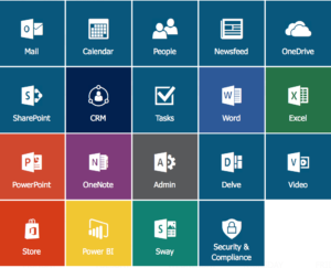 Office365 App Launcher