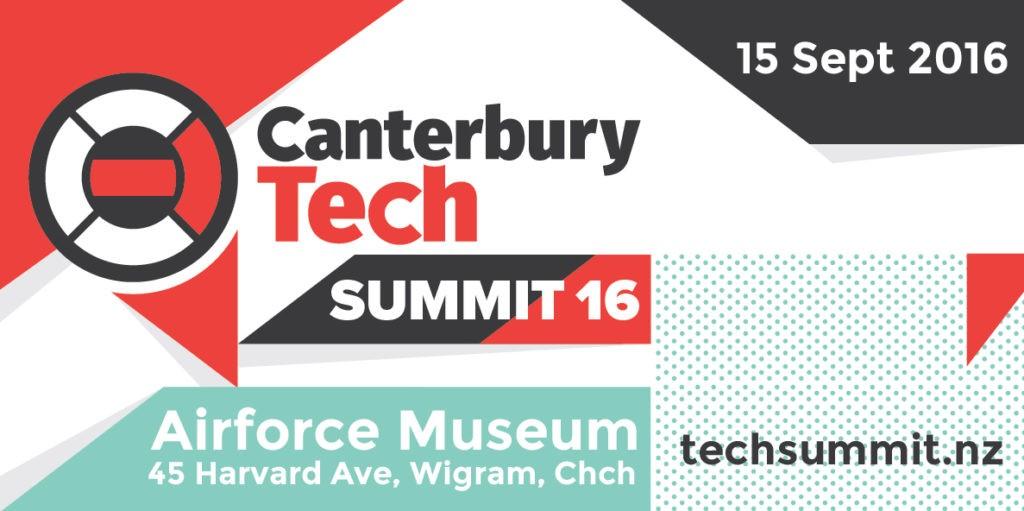 Canterbury Tech Summit 2016