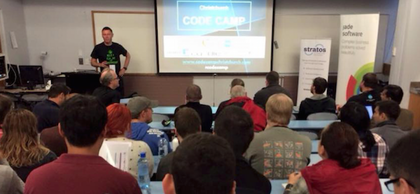 Code Camp Opening